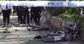 Врезультате наезда внедорожника на велодорожку вНью-Йорке погибли восемь человек(ВИДЕО)