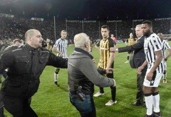 В Греции российский бизнесмен с оружием прервал футбольный матч