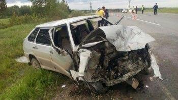 Под Нижним Тагилом в ДТП один человек погиб и трое получили травмы (ФОТО)