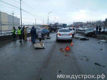 Массовое ДТП на Восточном шоссе. Среди пострадавших – директор спортшколы «Спутник»