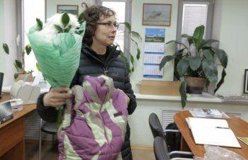Юлию Чичерину одели в фирменный камуфляжный жилет «Уралвагонзавода»
