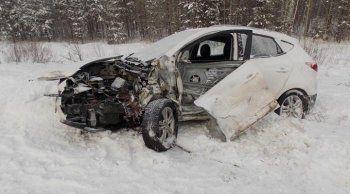Под Нижним Тагилом в аварии погиб водитель «Нивы»