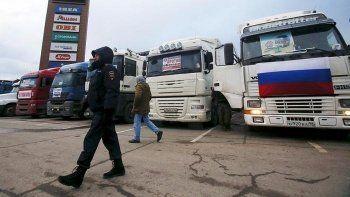 480 свердловских дальнобойщиков решили доехать до Кремля из-за «Платона» (ВИДЕО)