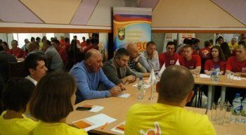 Работники ЕВРАЗа на Урале приняли участие в молодежном слете «Мы вместе!»