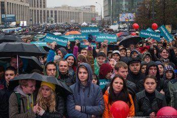 МВД предложило наказывать учителей и родителей за участие детей в митингах