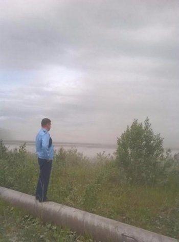 На Верхний Тагил обрушилась буря из золы (ВИДЕО)