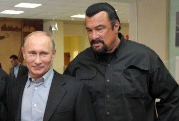 Путин сделал Стивена Сигала россиянином