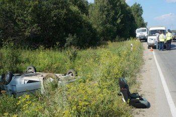 Годовалая девочка пострадала в ДТП под Нижним Тагилом (ФОТО)