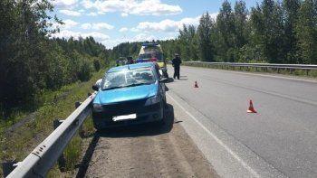 В ДТП под Нижним Тагилом погиб пассажир «Рено Логан»