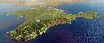 Украинцы попросили Порошенко отрезать Крым от материка каналом