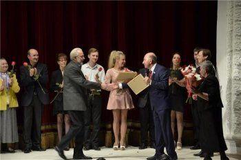 Артистам Нижнетагильского театра драмы вручили премию металлургов