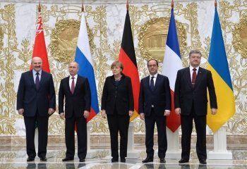 В Минске продолжаются переговоры «нормандской четвёрки»