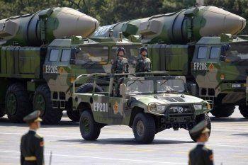 Кремль не считает угрозой размещение ракет КНР у границы с Россией
