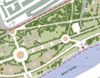 В пойме реки Тагил вместо ТРЦ с футбольным полем на крыше появится парк «Народный». Деньги на благоустройство «зоны затопления» ищет любимый фонд мэрии города (ФОТО)