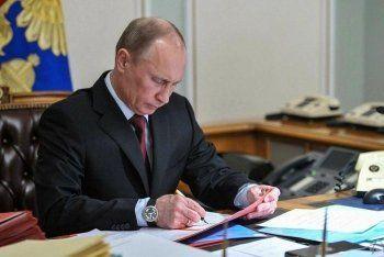Путин снял с должности главу ГУ МЧС по Свердловской области