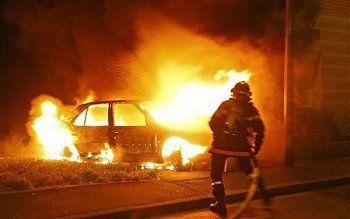 В Нижнем Тагиле водители выезжали на горящих автомобилях из-за пожара на незаконной свалке (ВИДЕО)