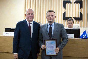 Топ-менеджер УВЗ получил грамоту из рук Чемезова. «Для меня это большая честь»