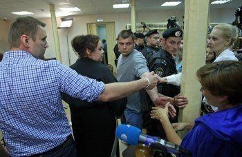 Прокуратура добилась принудительного привода Навального на заседание по «Кировлесу»
