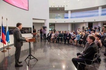 Евгений Куйвашев в День флага России вручил награды сотрудникам  ЕВРАЗ НТМК