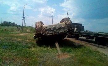 На Армейских играх перевернулся танк сборной Кувейта (ВИДЕО)
