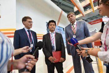 В первый день «Иннопрома» ЕВРАЗ заключил договор с российскими и японскими партнёрами
