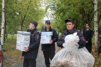 Нижнетагильские полицейские уничтожили семь килограммов наркотиков