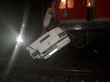 При столкновении поезда с автобусом под Владимиром погибли 17 человек (ВИДЕО)