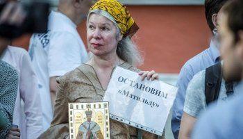 Российские телеканалы отказались показывать рекламу «Матильды»