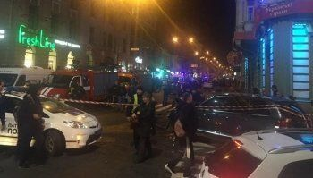 В Харькове в результате наезда автомобиля на толпу погибли шесть человек