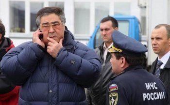 Аман Тулеев доставлен в Москву