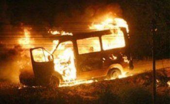 В Нижнем Тагиле вспыхнула пассажирская «Газель»