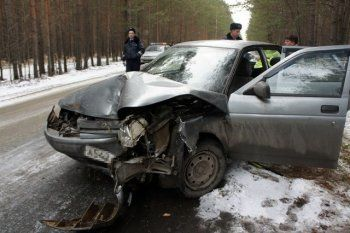 Ребёнок пострадал в аварии на Исинском тракте