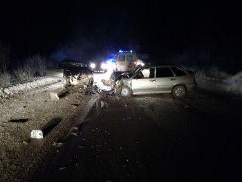 На трассе Нижний Тагил — Нижняя Салда произошло лобовое ДТП с пострадавшими