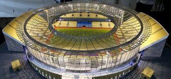 В Екатеринбурге сдали в эксплуатацию центральный стадион, где пройдут матчи ЧМ-2018