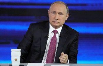 Путин проведёт «Прямую линию» после инаугурации