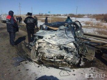 В ДТП под Камышловом погибли шесть человек