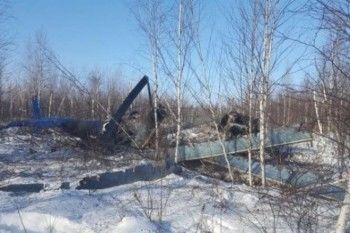 В Хабаровске при падении вертолёта на улицу города погибли 6 человек