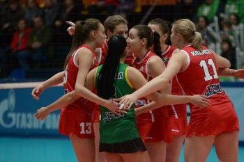 «Уралочка-НТМК» сравняла счёт в серии за бронзу женской Суперлиги