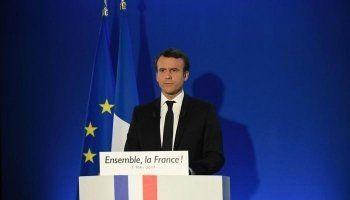 Эмманюэль Макрон победил на выборах президента Франции