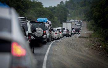 10-километровая пробка образовалась из-за ДТП на трассе Екатеринбург – Нижний Тагил