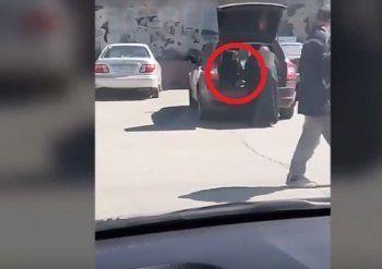 В Верхней Пышме священник ездил в машине с ребёнком в багажнике (ВИДЕО)