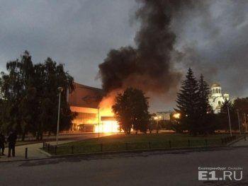 ККТ «Космос» пытались сжечь из-за «Матильды» Алексея Учителя