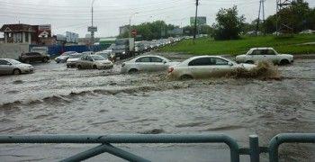 Екатеринбург опять затопило