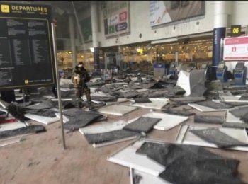 Число погибших в аэропорту Брюсселя достигло 14 человек
