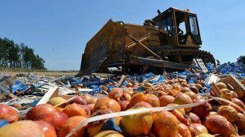 В Екатеринбурге уничтожили почти три тонны санкционных овощей и фруктов