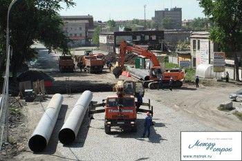 Улица Индустриальная будет открыта рано утром