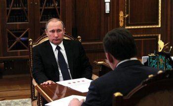 Куйвашев рассказал Путину в Кремле об экономике Свердловской области