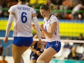 «Уралочка» победила в первом матче 1/4 финала Кубка вызова