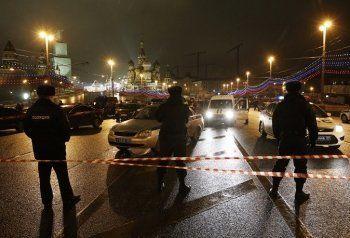 По делу об убийстве Немцова полиция ищет машину, связанную с Минфином