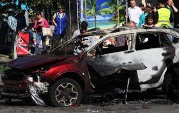 Опубликовано видео взрыва машины Павла Шеремета